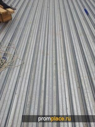 Профнастил Н75 0,87х750х12,1 метровый (новый/демонтаж)