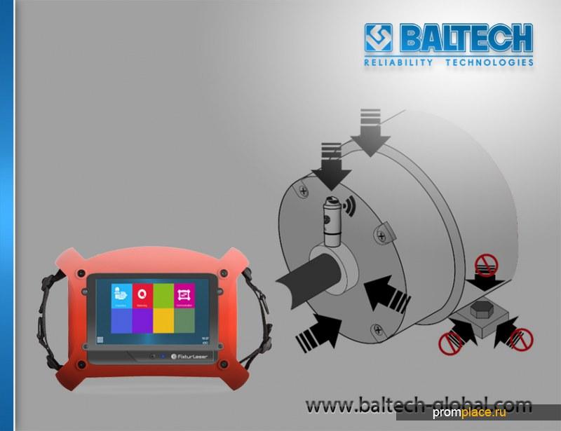 BALTECH - Балансировка крыльчатки - Smart Machine Checker (Fixturlaser SMC)