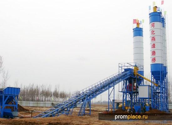 Бетонный завод, 60М3 готового продукта в час
