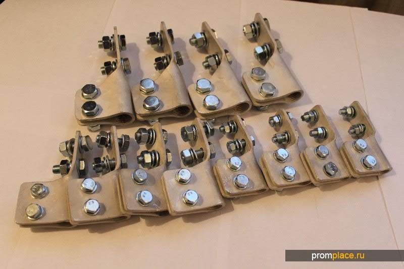Зажим контактный НН к трансформатору ТМ 250 кВа