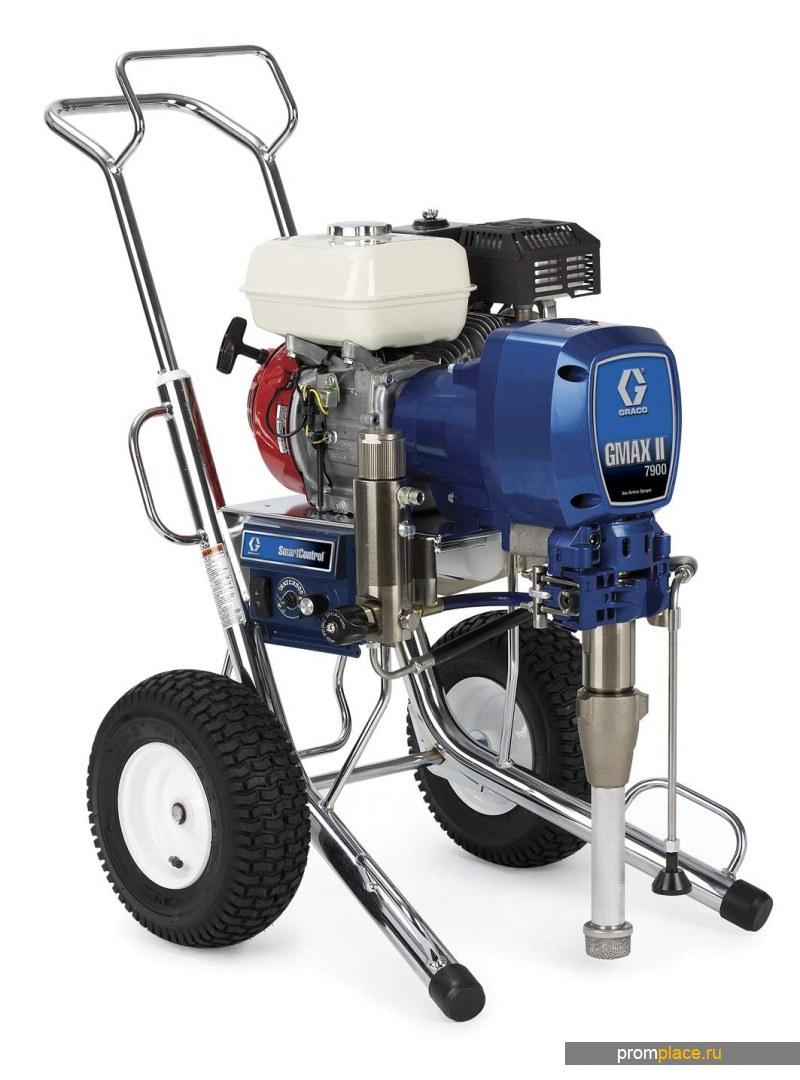 Распылитель бензиновый безвоздушный GMAX 3900/5900/7900 GRACO (США)