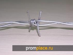 Проволока колючая одноосновная ф 2,8 мм оцинкованная по ГОСТ