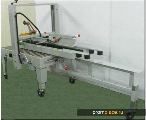 Полуавтоматический заклейщик/формовщик коробов. Модель PW553SFTB.