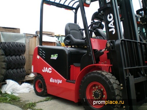 Дизельный погрузчик JAC Europe
