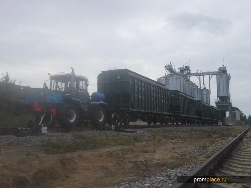 Отправка зерна железнодорожными вагонами