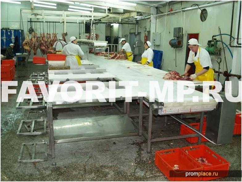 Конвейер для обработки мяса чехлы на т5 транспортер 3 места