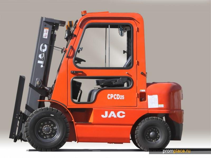 Автопогрузчик JAC cpcd 25