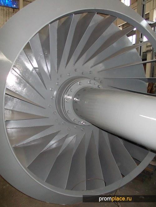 Ротор дымососа ДН-24х2-0,62