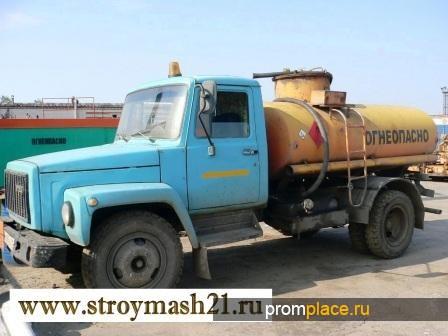 Топливозаправщик АТЗ 36133-011 на шасси ГАЗ-3307, 1991 г.в.