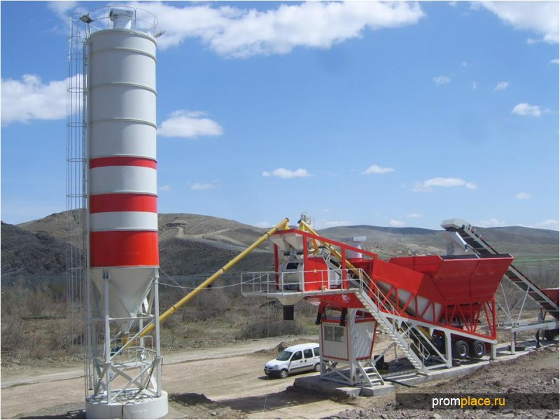 Мобильный бетонный завод Semix-120 Кorsar,  Турция