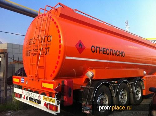 бензовоз NURSAN 40 м3