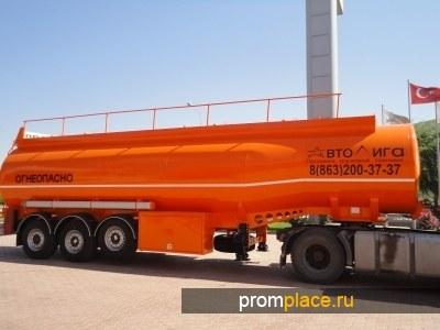 Цистерна бензовоз NURSAN 40 м3