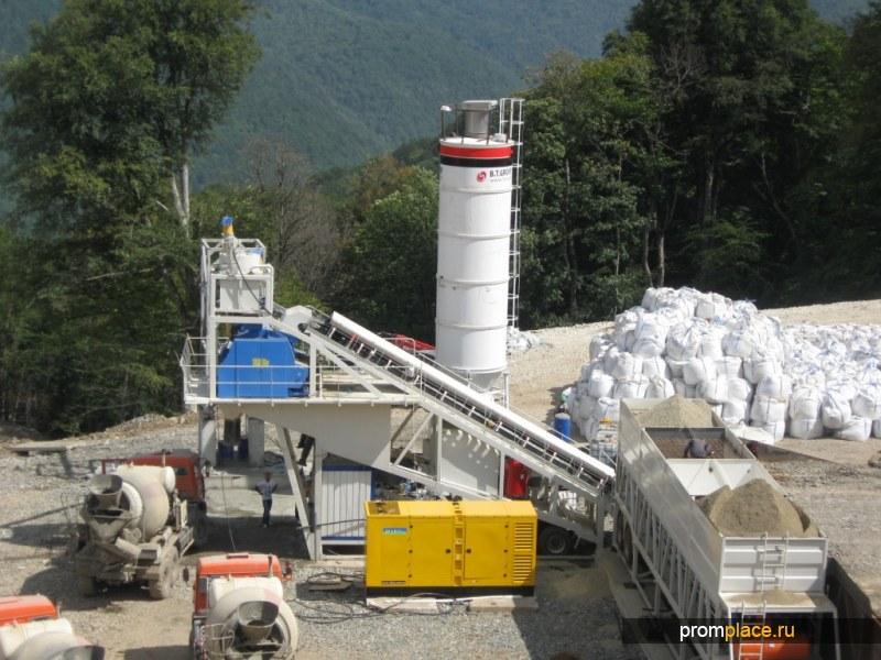 Мобильный бетонный завод Semix-120 Grand Korsar
