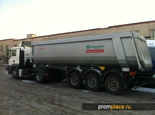 АМОСВАЛЬНЫЙ ПОЛУПРИЦЕП GRUNWALD V-34M3