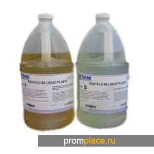 Пластик Easy-Flo 60(смола и отвердитль)-литьевой, белого цвета, твердость 80 D по Шору
