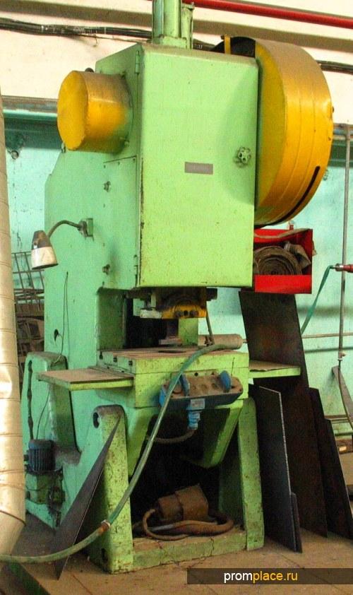 Пресс кривошипный 40т Модель КД2326