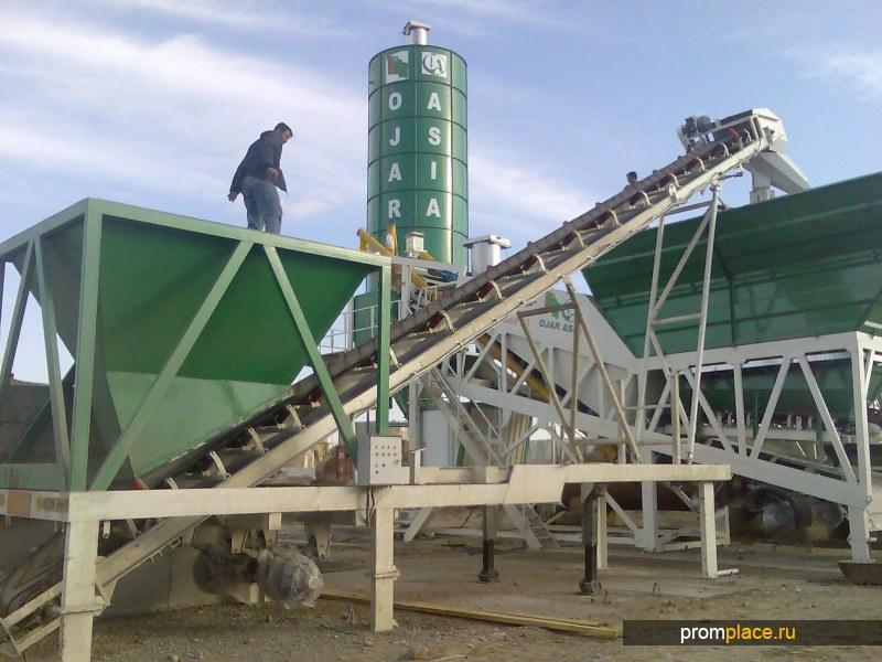 Рамный бетонный завод Semix-120 Korsar