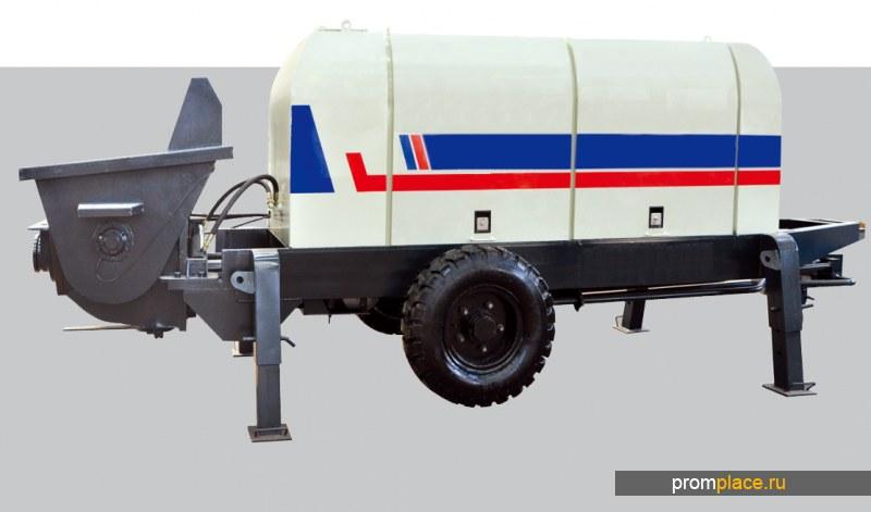 Бетононасос S клапана серии HBTS 60 -80