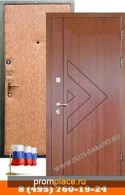 Железные двери с отделкой Мдф + Винилискожа