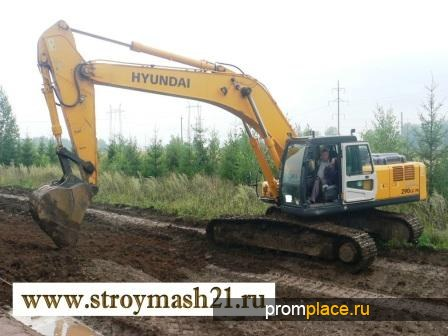 Продам б/у экскаватор гусеничный HYUNDAI R290LC-7A, 2011 г. в.