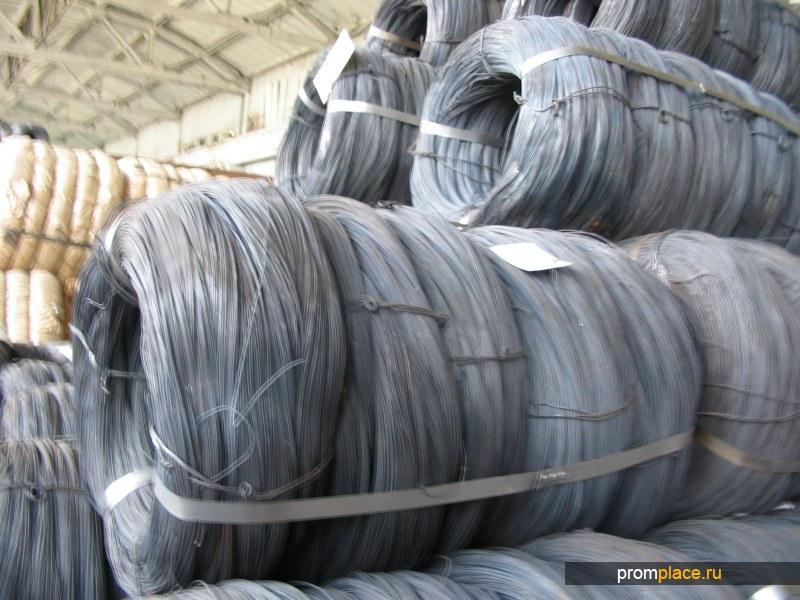 Проволока стальная без покрытия термически необработанная ГОСТ 3282-74