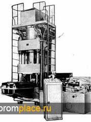 Пресс трехпозиционный для горячей штамповки ПА0437