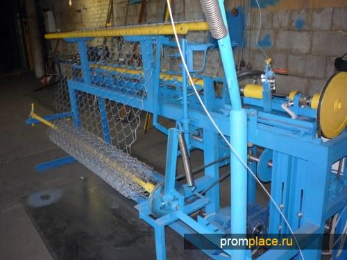 Станок для производства сетки рабицы АСУ-174 (автомат).