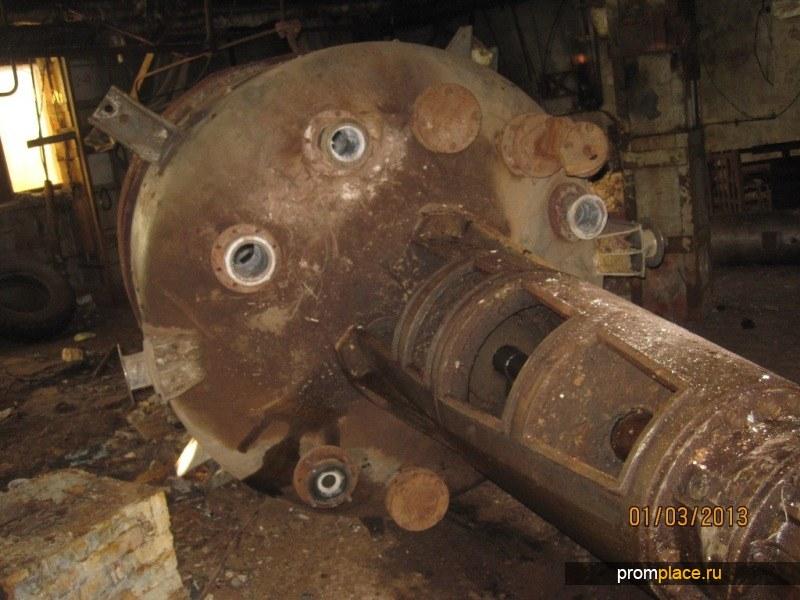 Химический реактор 10м3; 5м3; 16м3;2,5м3; 2м3