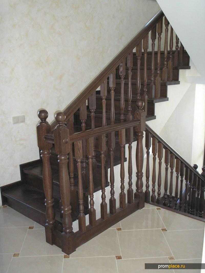 Лестницы из любых пород дерева.