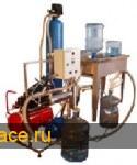 Установка подготовки и розлива питьевой воды в 19 л. пластиковые