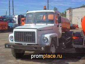 Ассенизатор КО-503В (2013 г.) ГАЗ-3307 (2008 г.) бензин