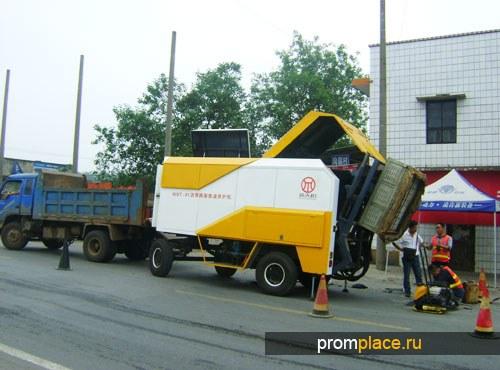 Микроволновая машина для обслуживания асфальтобетонных покрытия дороги NEW Timehope TWB81