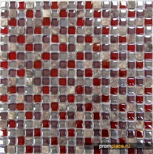 Мозаика стеклянная и из натурального камня