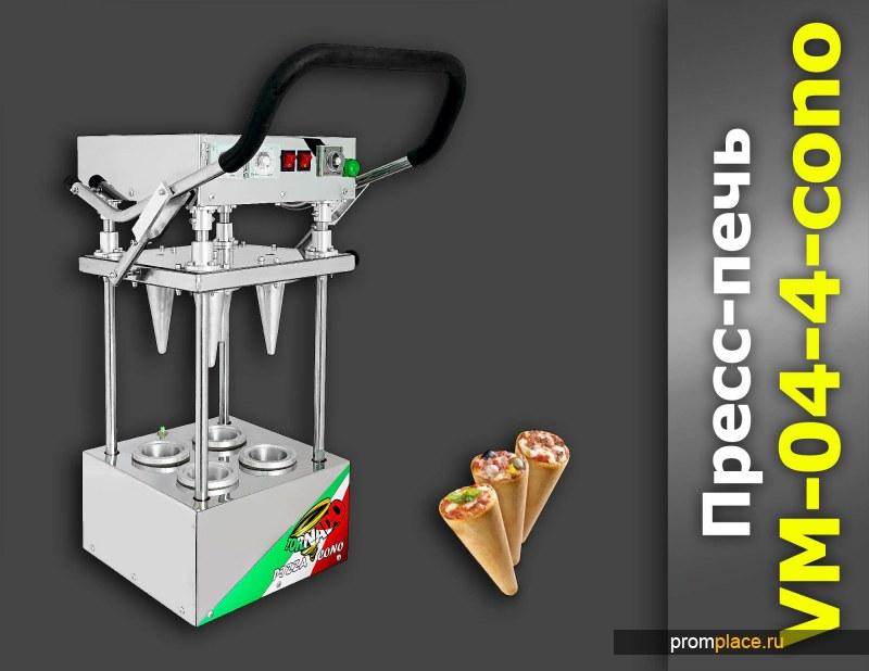 Пресс-печь VM-04-4-cono TORNADO