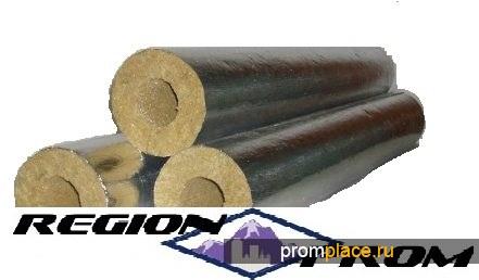 Цилиндры теплоизоляционные Ц 100, минераловатные