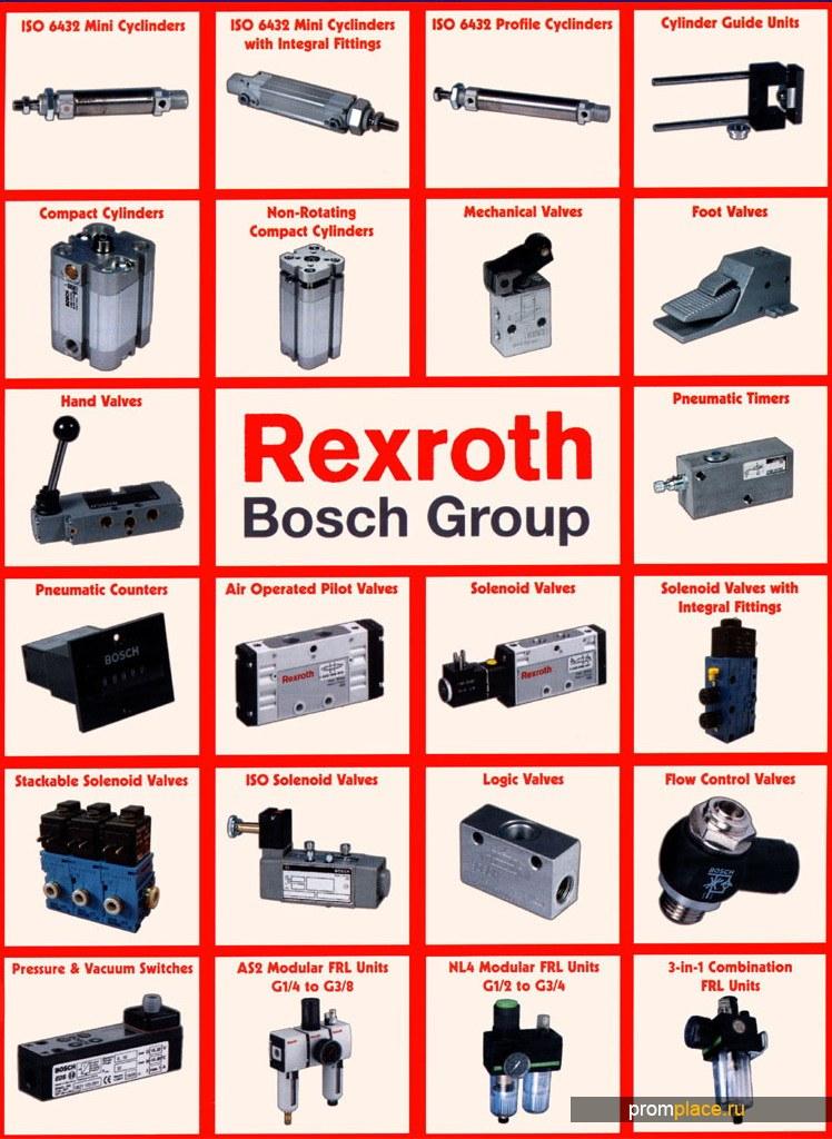 Гидравлика и пневматика Bosch Rexroth