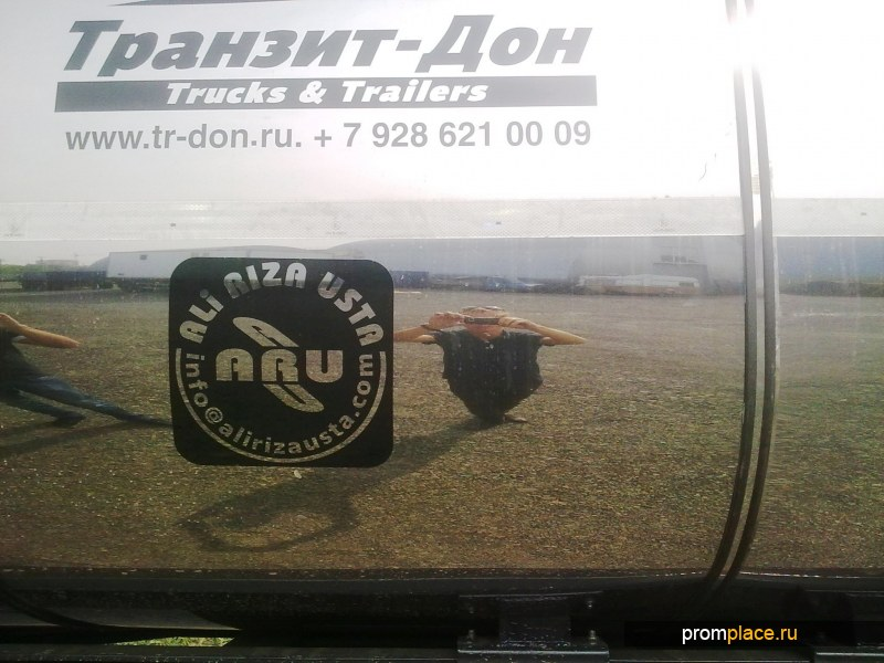 Пищевая полуприцеп-цистерна Ali Riza Usta 35 000 литров