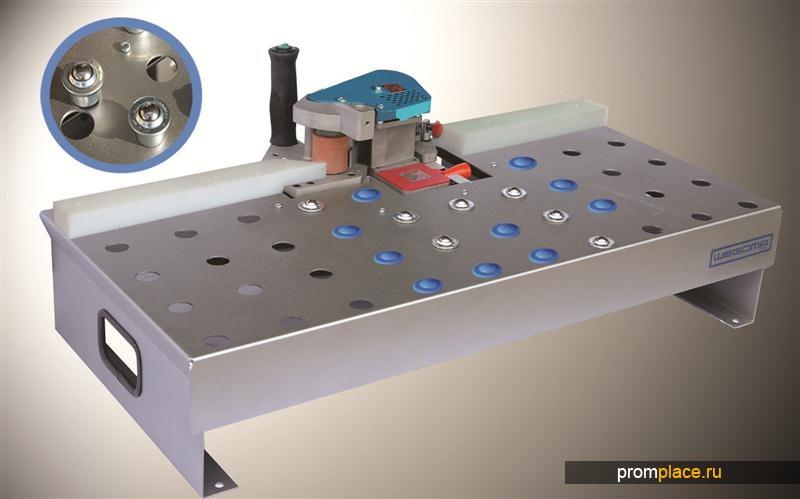 Стол для стационарного применения кромкооблицовочных станков серии PM2000 с податчиком кромки
