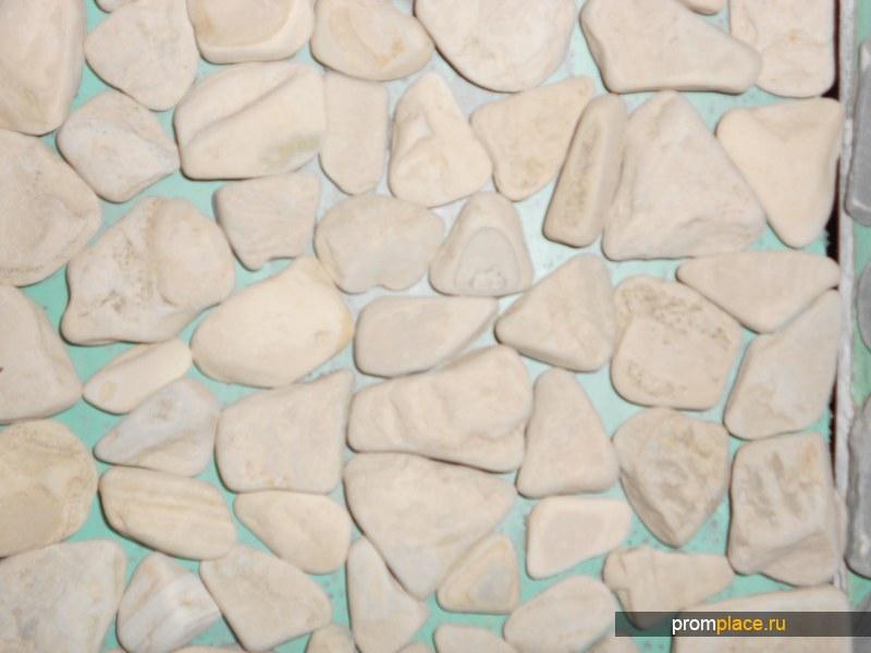 Природный камень галтованный