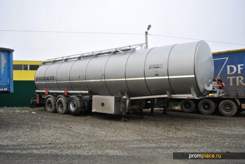 Изотермический полуприцеп цистерна для темных нефтепродуктов 45000 литров