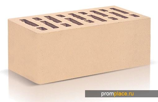 Кирпич облицовочный керамический слоновая кость полуторный производства ООО «ОСМиБТ» г.Старый Оскол