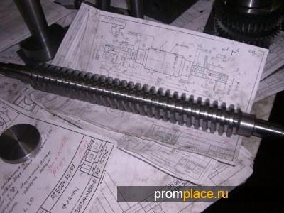 Винт червячный РТ5004.40.175 (Для станков РТ5004,РТ5003)