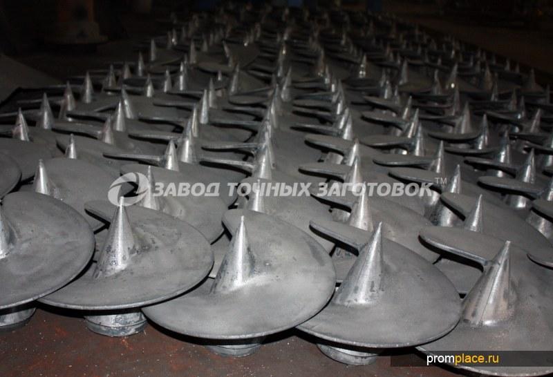 Литые наконечники для винтовых свай 350/133