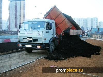 Погрузка и доставка сыпучих материалов в Казани.