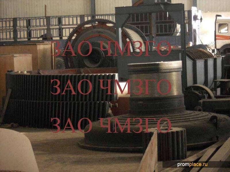 Крышка загрузочная №3643.21.001.1.0 для мельницы МǾ 4х13.5,вес 28200кг
