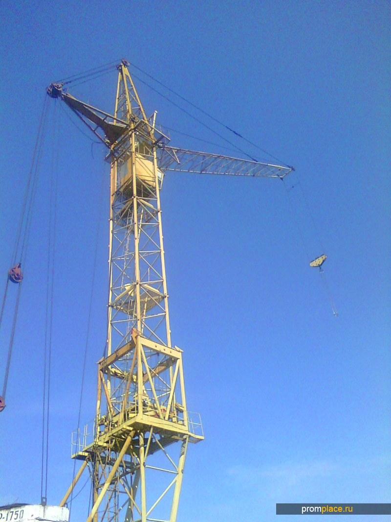 КБ-405 башенный кран г/п 10 тонн