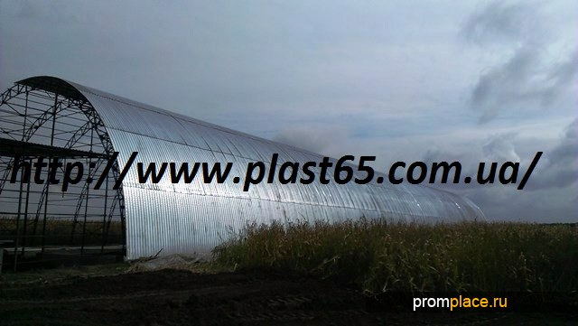 Зернохранилища ангарного типа под ключ в Украине.