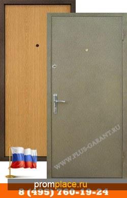Металлические двери Порошковое напыление + Ламинат