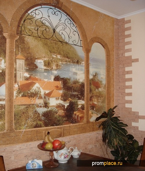 Фотообои и фрески