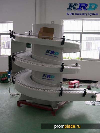 KRD вертикальные вибрационные конвейеры